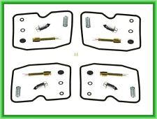 MS Carburetor Repair Kit x4 KAWASAKI GPZ 1000 RX A Ninja / 1100 E / F ABS / 400
