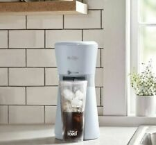 🔥New Mr. Coffee Iced Coffee Maker with Reusable Tumbler&Coffee Filter-Gray🔥