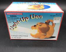 Light Up LION FLASHLIGHT - New vintage Radio Shake 60-1151