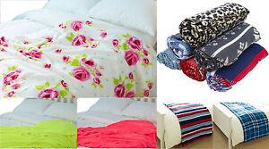 Luxury Decorative Soft Sofa Bed Fleece Throw Blanket Warm Polar Travel Pet New