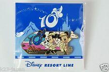 Tokyo Disney Resort Pin RESORT LINE 2011 TDS 10th Anniversary Mickey Minnie