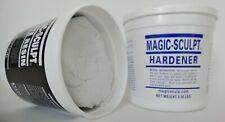 Magic-Sculpt self-hardening epoxy modeling clay 5 lb.White