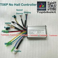 T06S/T06P KT Controller 24V/36V/ 250W-350W 15A controller for ebike motor