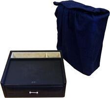 Authentic Eilux Black Leather Watch Jewellery Storage Box
