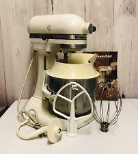 KitchenAid Hobart K5-A Stand Mixer With Accessories 10 Speed 5 Quart Vintage
