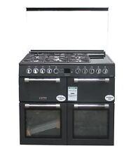 Leisure Dual Fuel Range Cooker 100 cm Grey CC100F521T 3 Ovens #2453