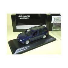 VW GOLF VARIANT 1999 Bleu Marine MINICHAMPS 1:43