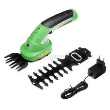 More details for 1000rpm cordless hedge trimmer cutter & grass shears handheld garden shru