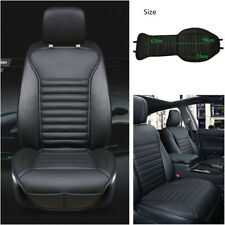 1pcs PU Luxury Leather Bamboo Charcoal Car Front Seat Cover Cushion Universal