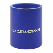 RACEWORKS SILICONE HOSE STRAIGHT 2.75'' (70mm) x 75mm BLUE SHS-275BE