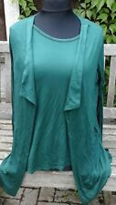 Antthony tunic and jacket set in hunter green, size small. 10/12