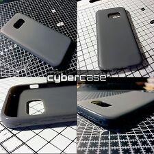 Original Samsung Galaxy A3 2017 Case Flexible TPU High Impact Gel Grey Cybercase