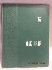 1967 Yearbook Oakland City High School IN Oak Leaf Great Photos With Signatures
