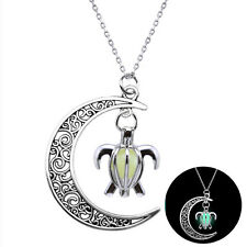 New Fluorescence Necklace Cute Turtle Pendant Night Glow in the Dark Jewelry