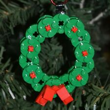 New Genuine LEGO Christmas Ornament Wreath with Instructions