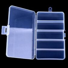 US Waterproof Fishing Lure Tackle Hook Bait Plastic Storage Box Container Case