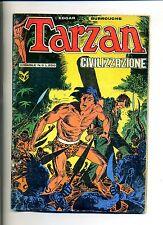 Edgar Rice Burroughs # TARZAN # CIVILIZZAZIONE  N.8 Maggio 1975#Editrice Cenisio
