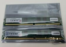 Transcend 2 x 1GB 1Rx8 DDR2 667 RAM - DIMM CL5 - Low Profile RAM - Unbuffered