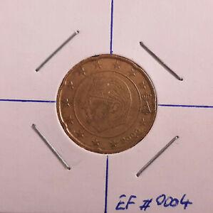EURO FAUTÉ  - Belgique - 20 cents 2000 - (EF#0004)