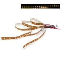 DD06WM 3pcs Prewired WARM White Strip Led Light Self-adhesive 12V~18V 30CM