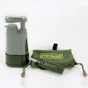 Miniwell L610 mobiler Wasserfilter gegen Viren und Bakterien Outdoor Filter