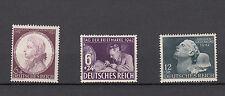 Imperio alemán, michel-nº 810, 811, 812 post frescos, 3 gastos, véase Scan