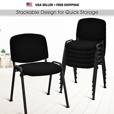Set Of 5 Conference Office Chair For Guest Reception Lecture Exam Arm Chair New