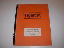 Tigercat 845B Feller Buncher Operator's Manual , s/n 8450501 - up