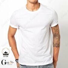 *NEW* 3 6 PACK 100% COTTON Crewneck  Tagless T-shirt Undershirt S-XL