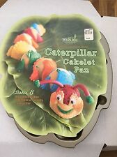 Williams Sonoma WS Kids Caterpillar Cakelet Pan 8 Section Nordic Ware New!