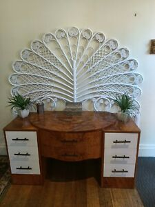Vintage Sideboard Retro Cabinet Dresser  Drawers Chest fler Eames art deco style
