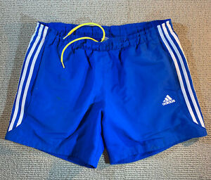 ADIDAS RUNNING TRAINING SPORT SHORTS MENS LARGE GYM FOOTBALL RUGBY FITNESS