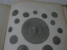 c.1854 book Des Medailles De L'Empire Napoleon illustrated plates medals