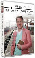 GREAT BRITISH RAILWAY JOURNEYS series 5 five. 4 discs. New sealed DVD.