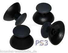4 Thumbsticks = 2 Paare Kappen für PS3 Controller - Joystick Hut Knopf - schwarz