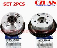 GENUINE Intake Exhaust Camshaft Gear CVVT for Hyundai Kia 243702G000 24350-25000