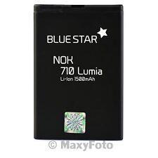BATTERIA ORIGINALE BLUE STAR 1500mAh LITIO PER NOKIA 603 LUMIA 710 610 ASHA 303