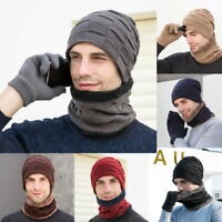 Mens Thermal Insulated Hooded Neck Warmer 3.5 Tog Winter Skiing Cycling Scarf