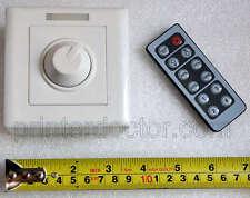 12v-24v 12 v 24v LED strip tape light DC dimmer 12 volt 8a low volta US seller