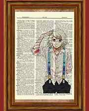 Juuzou Suzuya Tokyo Ghoul Anime Dictionary Art Print Poster Picture Book Japan