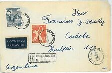 BASKETBALL - SPORT - STAMPS on COVER  - POLAND 1956