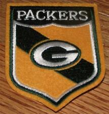 "GREEN BAY PACKERS Shield Patch 3"" x 3.75"" Embroidered NEW Quality Polo Sized"