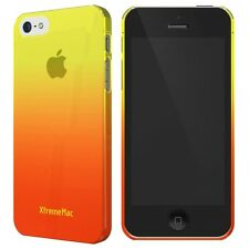XtremeMac Microshield Fade Case for iPhone SE/5/5s - Yellow Tangerine Orange