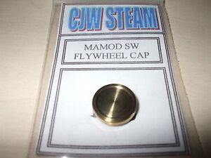 CJW Steam BRASS TURNED FLYWHEEL CAP SW1 Mamod Steam Wagon LIVE STEAM MODELS
