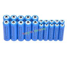 10xAA3000mAh + 10xAAA 1800mAh 1.2V NI-MH recargables 2A 3A azul celular