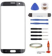 Touchscreen Frontglas Scheibe für Samsung Galaxy S7 Edge G935F LOCA schwarz