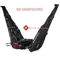 LEGO Star Wars Kylo Ren's Shuttle from set 75256 (Ship only)