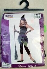 Sassy Witch Costume Halloween XL Teen Girl Dress 12-14 Girl NEW