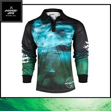 Fishing Jersey - Anchored Army Bream