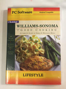 Williams Sonoma Guide To Good Cooking CD-ROM for Win/Mac CD in SLEEVE Broderbund